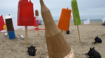 Hubworld 'Meltdown' installation made by Baden Powell