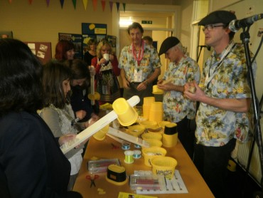 Ukulele making with the Utterly Butterly Ukulele Project