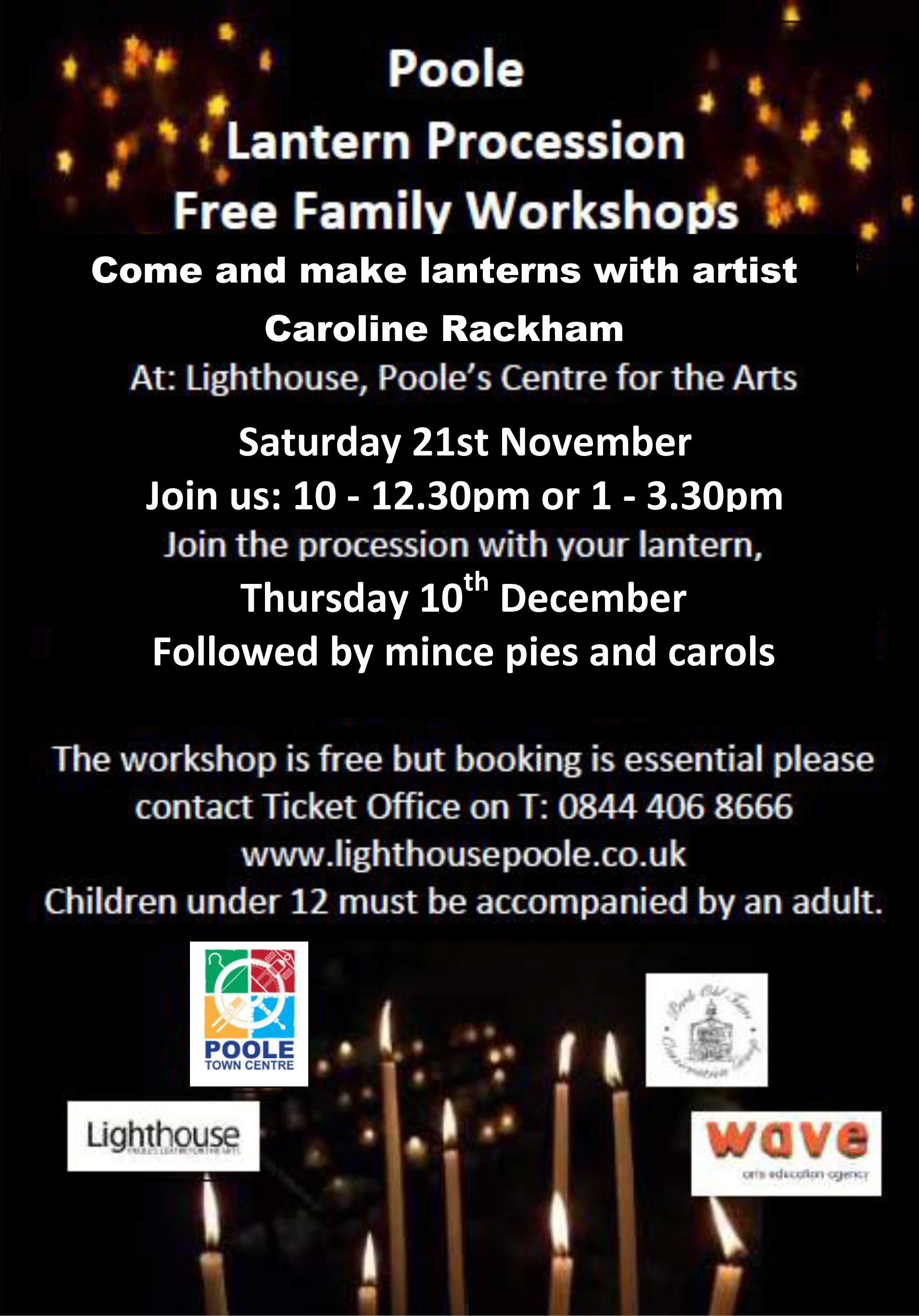 1342Poole Lantern Procession – Free Family Workshop