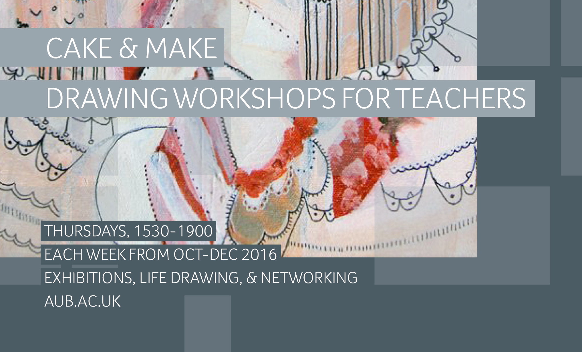 2905Free Drawing Workshops for Teachers at AUB